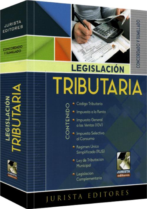 LEGISLACIÓN TRIBUTARIA - Concordado y Sumillado