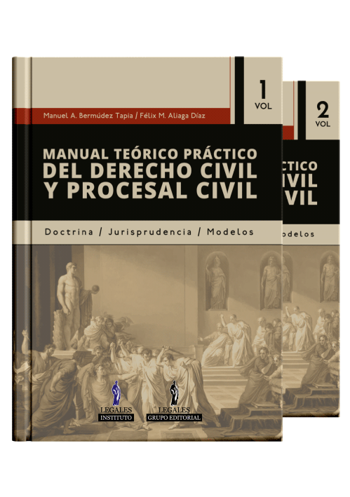 MANUAL TE�RICO PR�CTICO DEL DERECHO CIVIL Y PROCESAL CIVIL