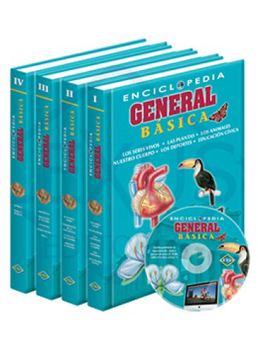 ENCICLOPEDIA GENERAL BÁSICA + CD-ROM