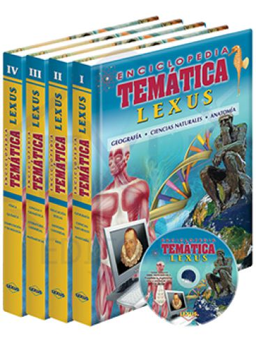 ENCICLOPEDIA TEMÁTICA LEXUS + CD-ROM