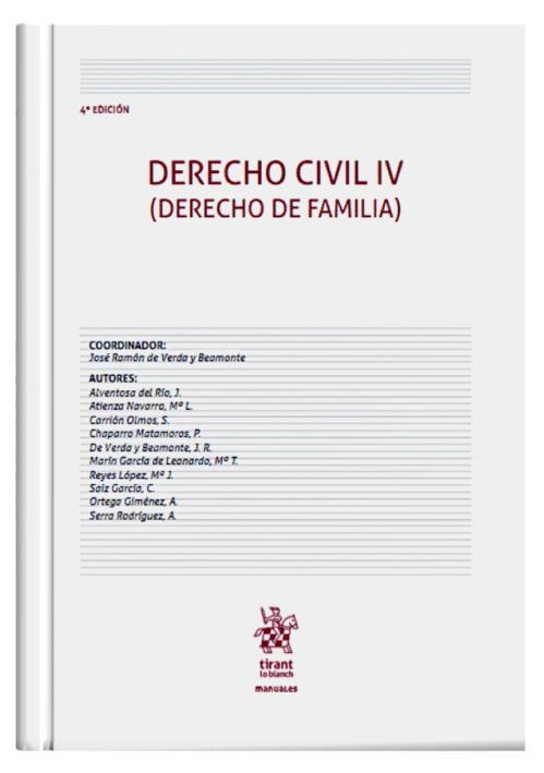 DERECHO CIVIL IV (Derecho de Familia)..