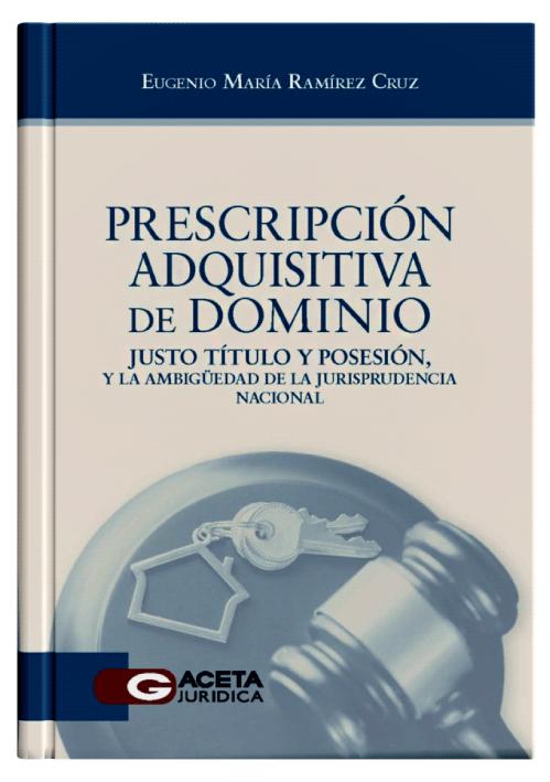 PRESCRIPCIÓN ADQUISITIVA DE DOMINIO - Los conceptos del justo título y posesión, y la ambigüedad de la jurisprudencia nacional.