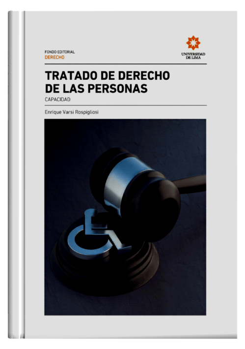TRATADO DE DERECHO DE LAS PERSONAS - Capacidad