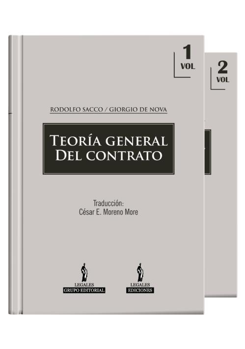 TEORÍA GENERAL DEL CONTRATO (volumen 1 y 2)